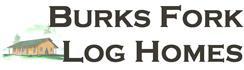 Burks Fork Log Homes logo