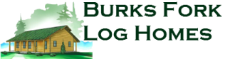 Burks Fork Log Homes logo